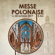 Affiche messe polonaise officielle