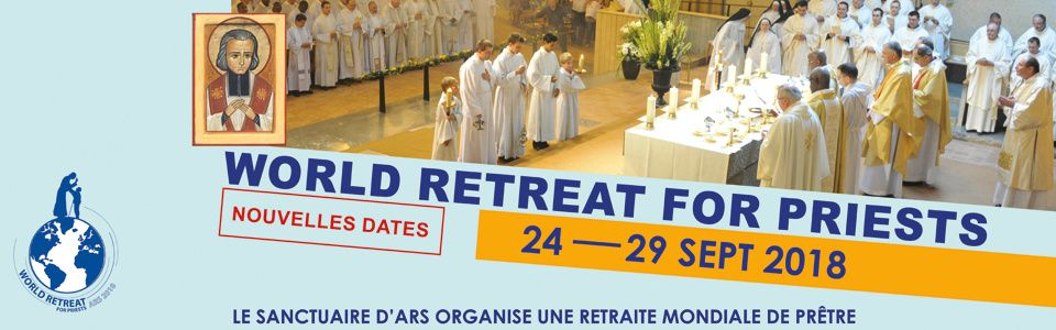 World retreat for priests